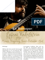 Guitar Recital- Finkelstein, Evgeni - Marais, m.