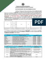 310 7ª Convocacao Assinatura de Contrato Processo Seletivo SEDUC Professor Emergencial Vagas Remanescentes(1)