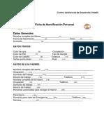 334-Ficha de Identificaccion Personal Cadi Miguel Aleman