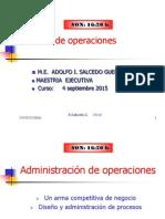 Administracion de Operaciones 1 ESPAE Para ESTU SEPT 2015