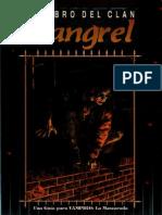 Libro Del Clan Gangrel Español