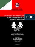 Violencia Escolar en Sociedades Pluriculturales - Bullyng y Victimización Entre Escolares de Caracter Etnico-Cultural