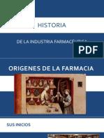 Historia Industria Farmacéutica