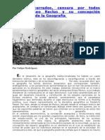Reclus y Su Concepción Anarquista de La Geografia