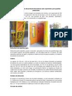 Información Detallada Del Producto Elevadores Auto Soportados Para Puentes Peatonales
