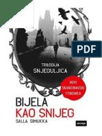 Salla Simukka Bijela Kao Snijeg
