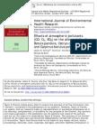 Effects of atmospheric pollutants (CO, O3, SO2) on the allergenicity of Betula pendula, Ostrya carpinifolia, and Carpinus betulus pollen