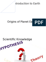 unit 1 ppt 2 origin of earth - earth systems 3209 website