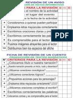 Ficha de Calificación de Produccion de Textos - Elaborado Por Eloy Celso Aquise Lerma