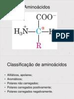 Reações Gerais de Aminoácidos