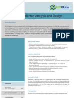 Object Oriented Analysis and Design (OOAD)