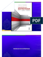 Modelos de Estrategia 2015 - Organización y Comportamiento