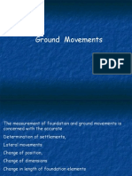 Measuring of Ground Movements
