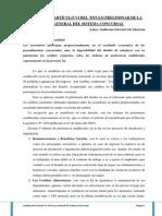 Analisis Articulo Vi Tp Leygeneralsistemaconcursal