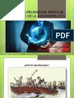 Bases y origenes del enfoque clasico de la administración.