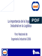 Ponencia La Logistica 2006