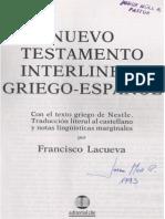 Mateo Interlineal Griego-Español