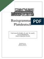 Basisgrammatik Plattdeutsch