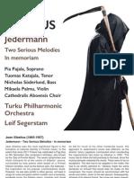 SIBELIUS, J.- Jokamies (Jedermann)