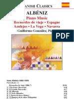 ALBÉNIZ, I.- Piano Music, Vol. 2 (González) - Recuerdos de viaje