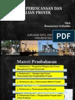 Rekayasa Perencanaan Dan Pengendalian Proyek