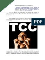 Artigo Sobre a Não Obrigatoriedade Do TCC