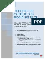 Reporte-078 Defensoria Del Pueblo