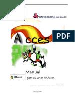 Manual de Access Computacion 3 para niños