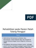 Rehabilitasi Pada Pasien Patah Tulang Panggul