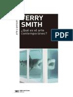 Smith Que Es El Arte Contemporaneo