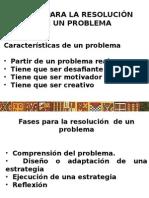 Fases Para Resolución de Un Problema 2015