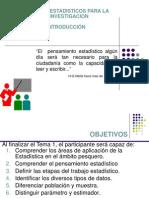 1.- Modelos Estadisticos