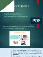 Unidad 1 Investigacion Pura y Aplicada 1.1