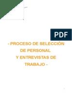 Proceso de Seleccion de Personal y Entrevistas de Trabajo