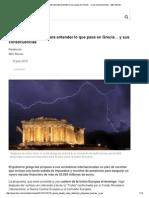 8 Preguntas Basicas para entender grecia- BBC Mundo