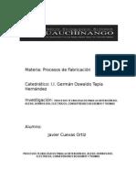 1.4 Procesos Tecnológicos Para La Obtención Del Acero