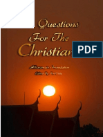 60 Questions for the Christians