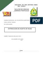 Aceite de Nuez de Tummasook Mellado Cueva Mejorado