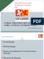 Procesos Metalurgicos Introduccion