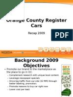 Orange County Register Cars
