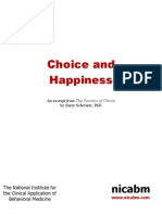 Choice and Happiness