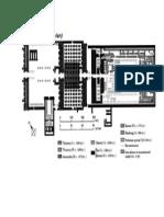 temple of amun-re plan  handout