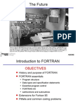 Programming With Fortran