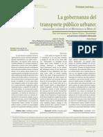 La gobernanza del transportePublicoUrbano 5001913(1)