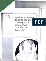 Cap10 Identidad Profesional Del Psicologo