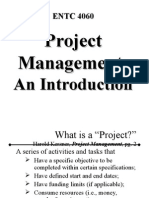 Intro to PM