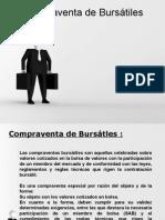 Compraventa de Bursátiles