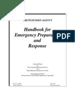 X1 Handbook for Emergency Preparation and Response