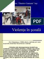 Violenţa În Şcoalăl