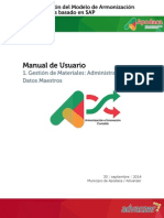 HMAPS Manual de Usuario MM Datos Maestros